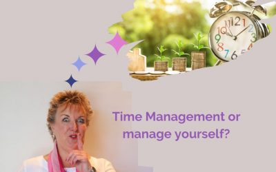 Time management or manage yourself?