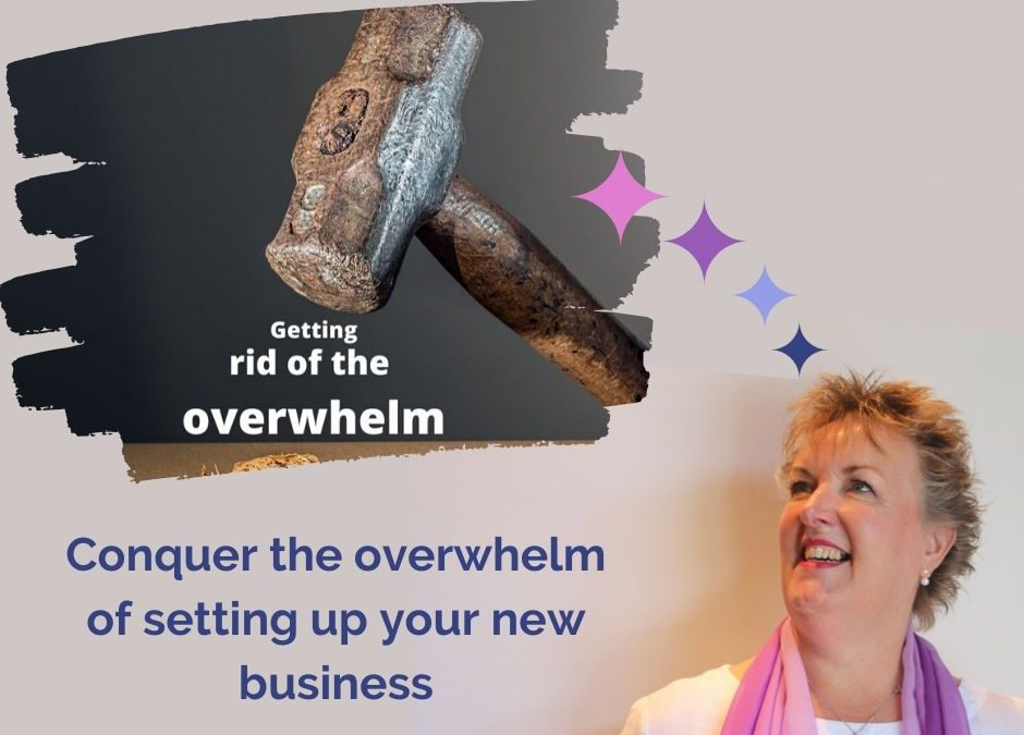 Conquer the overwhelm